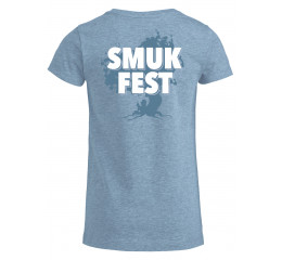 Årets T-shirt til i lys blå.