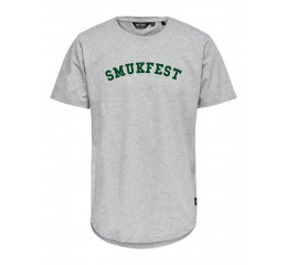 T-shirt grå herre.