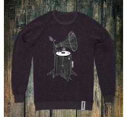 Sweatshirt med grammofontræ