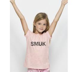 Lyserød t-shirt til børn