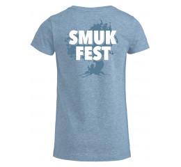 Årets T-shirt pige i lys blå.